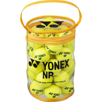 Yonex ヨネックス ノンプレッシャーボール 30個入 TBNP30 イエロー