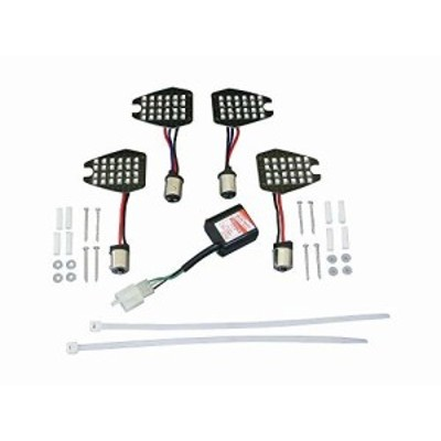 ポッシュ(POSH) LEDウインカーカスタマイジングキット シーケンシャルタイプ CB400SF CB400SB 470980