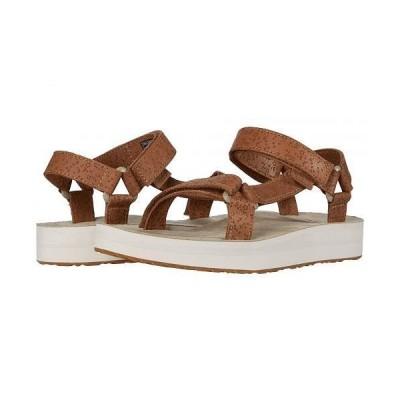 Teva テバ レディース 女性用 シューズ 靴 サンダル Midform Universal Star - Chipmunk