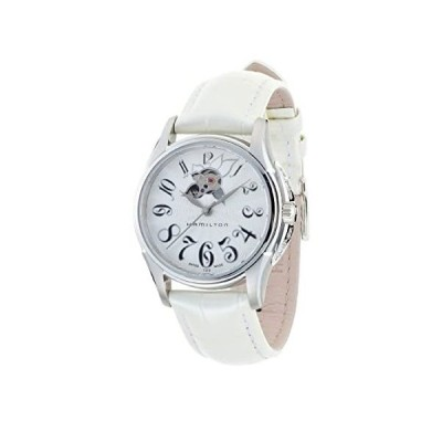 Hamilton Women's Analogue Automatic Watch with Leather Strap H32365313【並行輸入品】