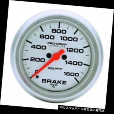 タコメーター オートメーター4467ウルトラライトデジタルステッピングモーターブレーキ圧力計  Auto Meter 4467
