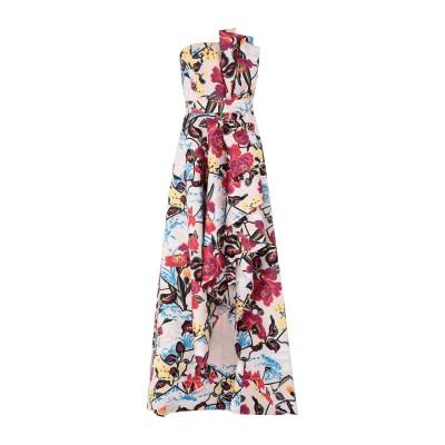 リュー ジョー LIU •JO ロングワンピース&ドレス ライトピンク 40 ポリエステル 100% ロングワンピース&ドレス