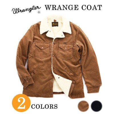 【40%OFF】Wrangler [ラングラー ] / WRANGE COAT 【S, M size】  (RANCH COAT レンジコート ボア ジャケット ブルゾン アウター) WT0001