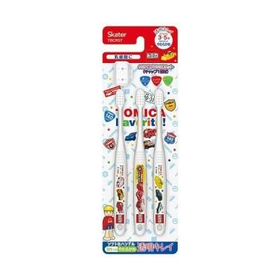 クリア歯ブラシ3本セット トミカ19 TBCR5T ( 3本入 )