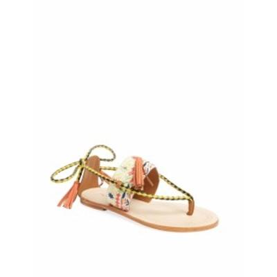 アンティクバティック レディース シューズ サンダル Tarata Embroidered Thong Sandal