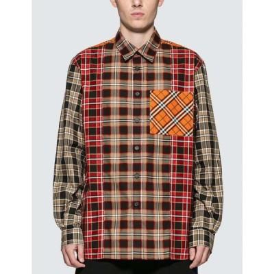 バーバリー Burberry メンズ シャツ トップス Multicolor Check Shirt Beige/Multicolor