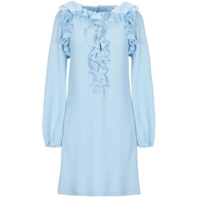 ブルーガール ブルマリン BLUGIRL BLUMARINE ミニワンピース&ドレス ターコイズブルー 40 ポリエステル 100% ミニワンピース