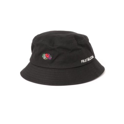 NO WAY / 【78】【FRUIT OF THE LOOM】KIDS LOGO EMB BUCKET HAT KIDS 帽子 > ハット