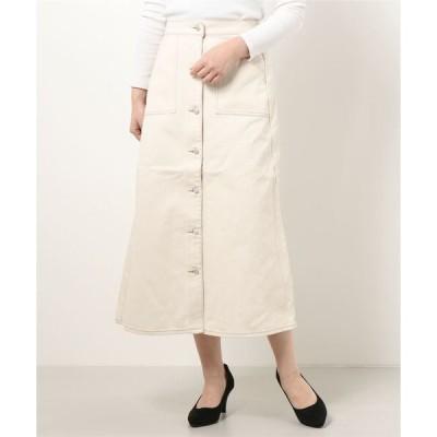スカート ベイカーポケットツイルスカート