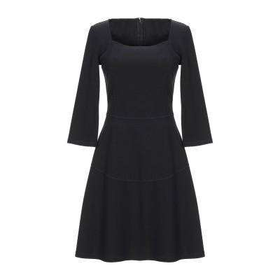 パトリツィア ペペ PATRIZIA PEPE ミニワンピース&ドレス ブラック 42 レーヨン 66% / ナイロン 30% / ポリウレタン 4