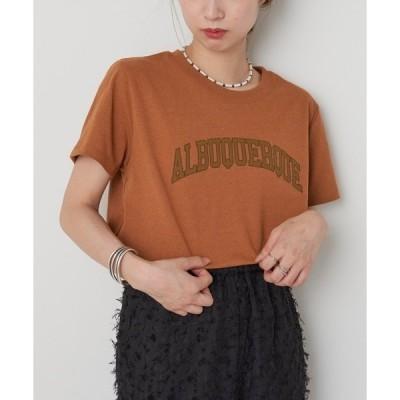 """tシャツ Tシャツ ECORICH""""ALBUQUERQUE""""Tee/ロゴプリントTシャツ"""