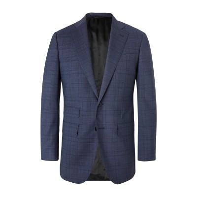 THOM SWEENEY テーラードジャケット ブルー 46 ウール 99% / ポリウレタン 1% テーラードジャケット