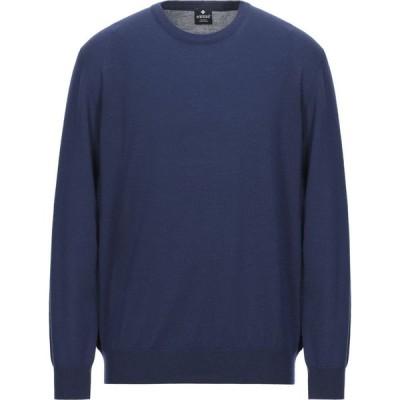 アンドレア フェンツィ ANDREA FENZI メンズ ニット・セーター トップス sweater Blue