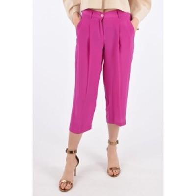 JEJIA/ジェジア Violet レディース Double Pleat Cropped Pants dk