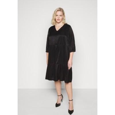 オンリー カルマコマ レディース ワンピース トップス CARTALIA DRESS - Day dress - black black