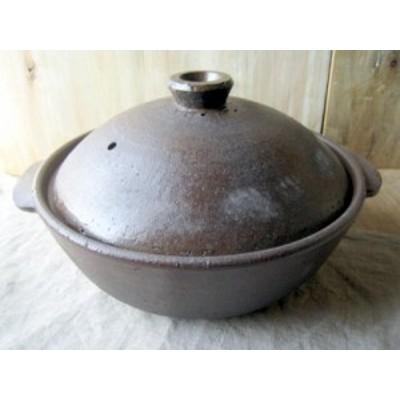 スタジオエム(スタジオM)  チャウダー  8号鍋 CHOWDER ブラウン/ベージュ  陶器 日本製 土鍋【送料無料】