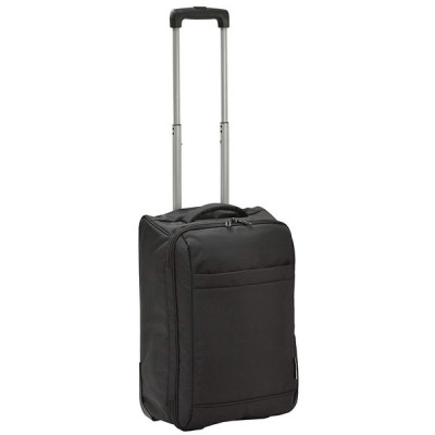 ヴァレンチノヴィスカーニ VALENTINO VISCANI 折りたたみ2輪トロリー スーツケース ソフト 機内持ち込みサイズ (レッド) プレゼント ギフト