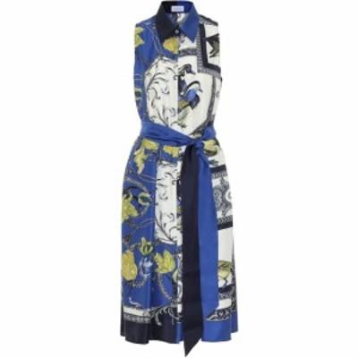 サルヴァトーレ フェラガモ Salvatore Ferragamo レディース ワンピース ミドル丈 ワンピース・ドレス Printed silk midi dress Toni Adm