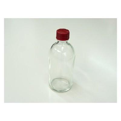 ガラス瓶 透明瓶 BG100 穴開き栓付