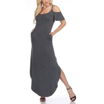 ホワイトマーク ワンピース トップス レディース Lexi Maxi Dress Charcoal