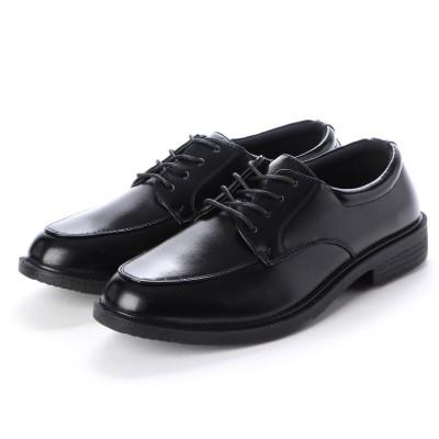 ブラッチャーノ Bracciano ビジネスシューズ メンズ 撥水 外羽 紳士靴 (BLACK)