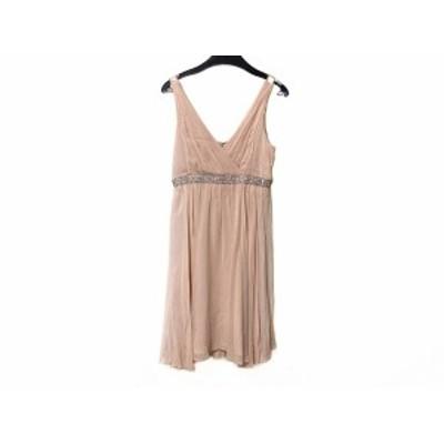 グレースクラス Grace Class ドレス サイズ36 S レディース ピンク シルク/ビジュー/ビーズ【還元祭対象】【中古】20200704