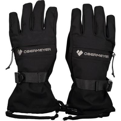 オバマイヤー 手袋 アクセサリー メンズ Obermeyer Men's Regulator Gloves Black