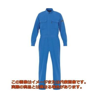 ミドリ安全 ベルデクセル T/C帯電防止ツナギ服 ブルー L VE413L