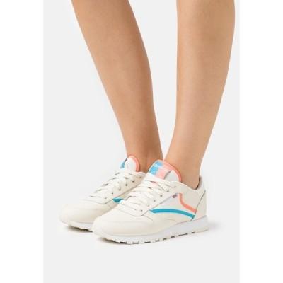リーボック スニーカー レディース シューズ Trainers - footwear white/carbon/vector red