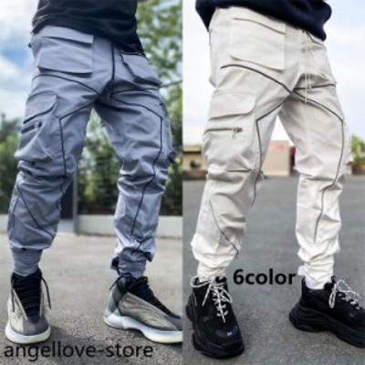 カーゴパンツ メンズ パンツ 大きいサイズ テーパードパンツ 春 夏 秋 服 涼しい ゆったり ボトムス ズボン メンズファッション