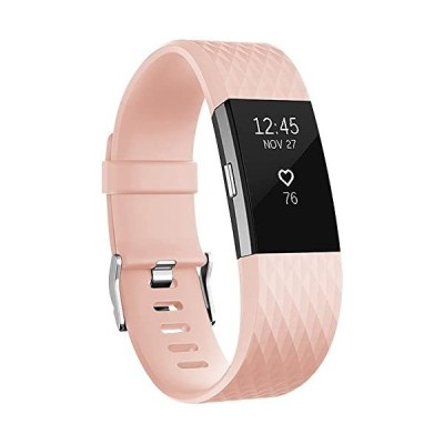 Vancle-Fitbit-Charge-柔軟でスポーツ仕様-ライトピンク
