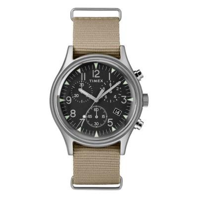 腕時計 メンズ TIMEX TW2T10700 クロノグラフ MK1 アルミニウム クロノグラフ 40mm