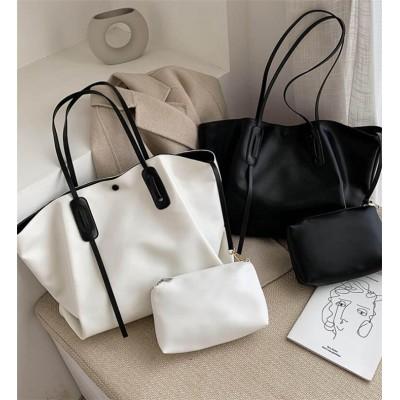 2020春💓新作💓韓国の人気💓 女性  2020  アウトドア 新品 潮 韓国 INSスタイル ショルダーバッグ  百掛け 大容量 シンプル ファッション 減齢 カレッジ風 ハンドバッグ