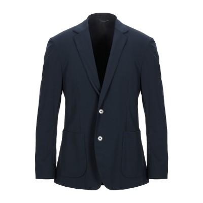 TOMBOLINI テーラードジャケット ダークブルー 52 ナイロン 85% / ポリウレタン 15% テーラードジャケット