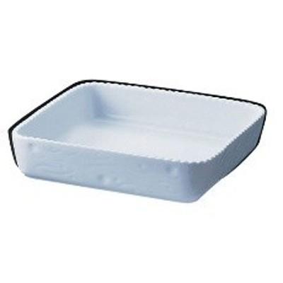 RLI30 ロイヤル 正角型グラタン皿 ホワイト PB600-25 :_