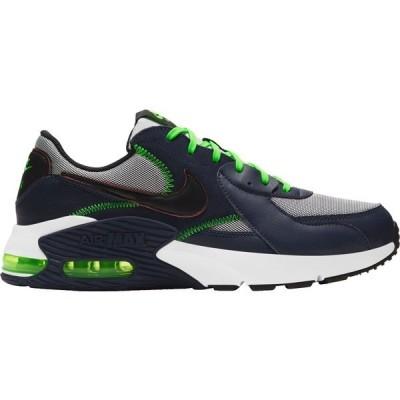 ナイキ スニーカー シューズ メンズ Nike Men's Air Max Excee Shoes BlkndBl/Blk/ElectricGrn