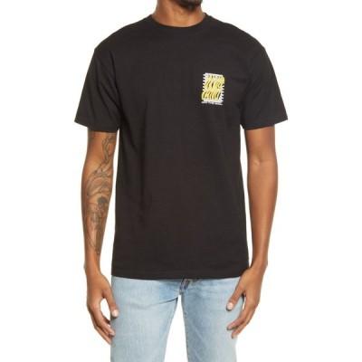 ヴァンズ VANS メンズ Tシャツ トップス Still Wavy Graphic Tee Black