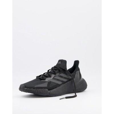 アディダス メンズ スニーカー シューズ adidas Running X9000 sneakers in black