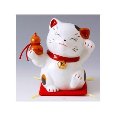 財福招き猫(大)千成(磁器)