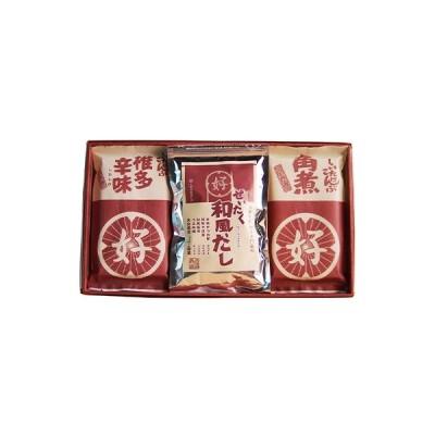 ふるさと納税 別府市 大分県産椎茸こんぶ佃煮・和風だし 計3個セット