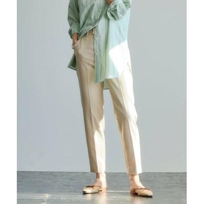 green label relaxing/グリーンレーベル リラクシング [1_OF MINE] ◆FFC スティック パンツ <34-42サイズ> NATURAL 38
