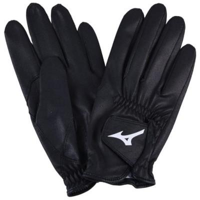 ミズノ メンズ ジョッキー手袋[ユニセックス] 09 ブラック 24 その他スポーツ 馬術(乗馬) 33JY9U10