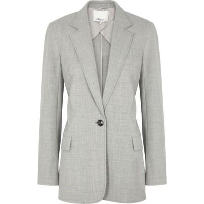 スリーワン フィリップ リム 3.1 Phillip Lim レディース スーツ・ジャケット アウター Grey Wool-Blend Blazer Grey