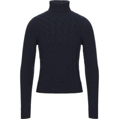 ドルモア DRUMOHR メンズ ニット・セーター トップス turtleneck Dark blue