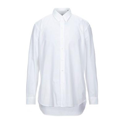 ベルスタッフ BELSTAFF シャツ ホワイト S コットン 100% シャツ