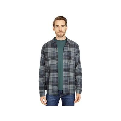 ハーレー Portland Flannel Long Sleeve メンズ シャツ トップス Dark Smoke Grey