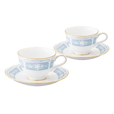 Noritake ノリタケ レースウッドゴールド Lacewood Gold ティー・コーヒー碗皿ペアセット Y6578A/1507 カップ&ソーサー コーヒーカップ