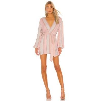 レトロフェット retrofete レディース ワンピース ワンピース・ドレス Gabrielle Robe Dress Pastel Pink Stripes