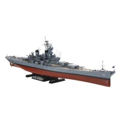 タミヤ(TAMIYA) 1/350 艦船シリーズ No.28 アメリカ海軍 戦艦 BB-62 ニュージャージー プラモデル 78028