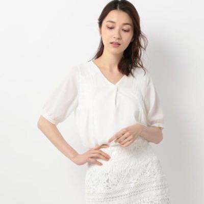 ミューズ リファインド クローズ(MEW'S REFINED CLOTHES)/ショルダータックカバーブラウス